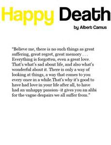 A Happy Death Albert Camus Quotes