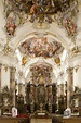 Baroque - In the basilica of Ottobeuren Abbey in Germany ...