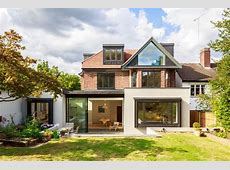 Beautiful Houses extension of a 1930s house in North London