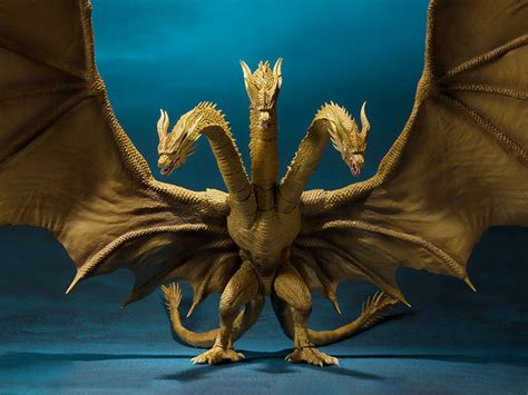 King Of The Monsters S.h.monsterarts King Ghidorah