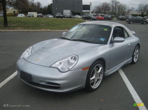 silver porsche carrera 2002 polar silver metallic porsche 911 carrera 4 cabriolet