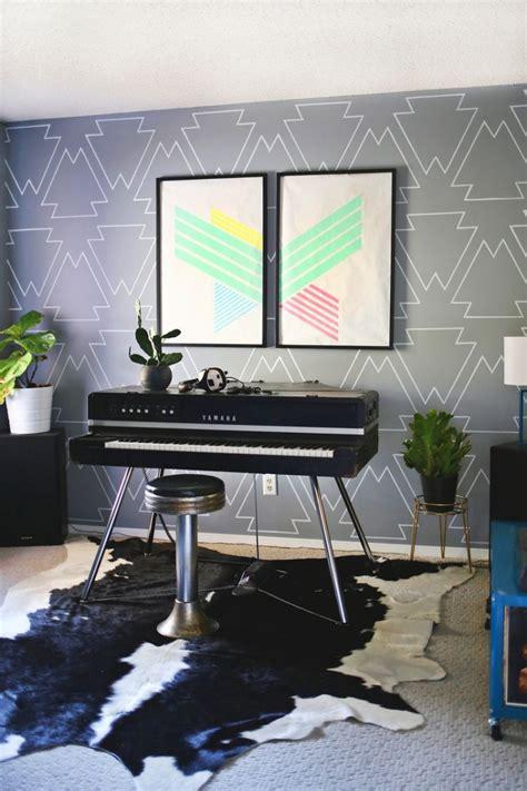 Wand Kreativ Streichen by Mit Farbe Wandmuster Streichen Kreative Wandgestaltung