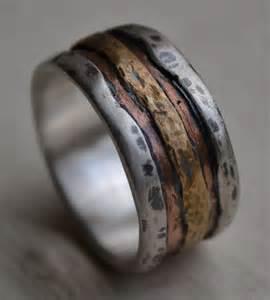 rustic wedding bands best 25 copper wedding band ideas on