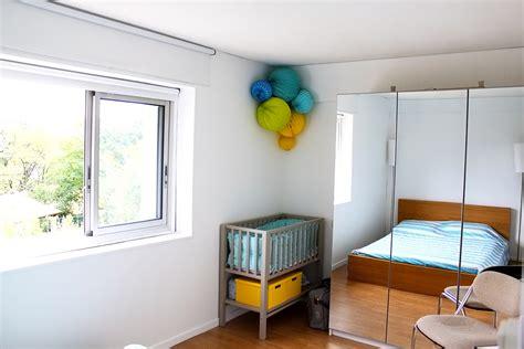 aménager chambre bébé dans chambre parents la chambre parentale et le coin bébé après réaménagement
