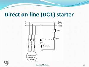 Wiring Diagram Of Direct On Line Starting Of Three Phase Induction Motor