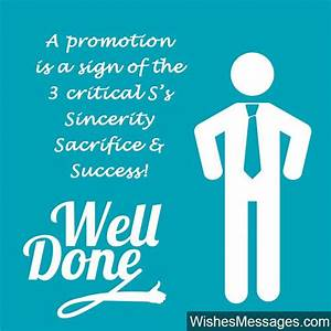 Promotion Wishes and Messages: Congratulations for ...