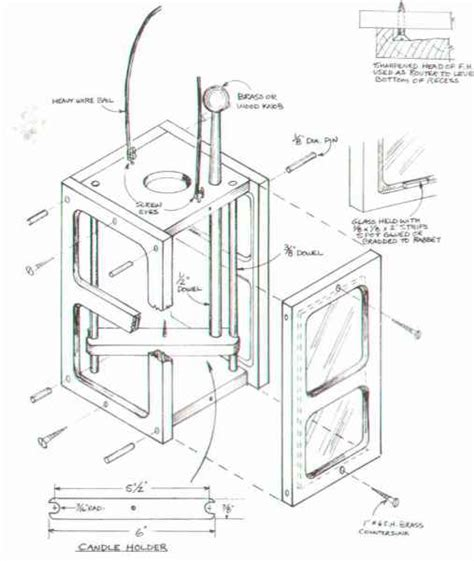 contemporary candle lantern furniture designs