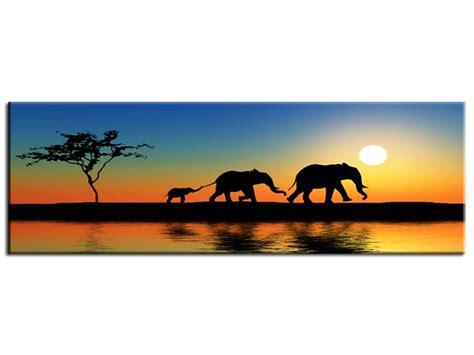tableau peinture afrique d 233 co murale salon pas cher