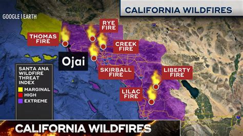 california fires today latest news  wildfires raging