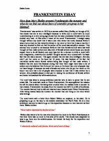 Reflective Essay Thesis Mary Shelleys Frankenstein Essay Introduction Examples Do Research Papers  Need A Title Sample Essay Papers also Essay For Science Frankenstein Essay Introduction Introduction Of Dissertation Mary  Research Proposal Essay