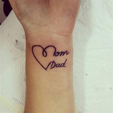 mom dad tattoos ideas  pinterest tattoo