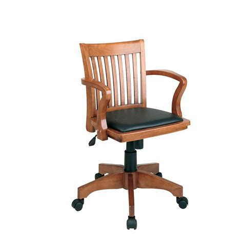 wood bankers chair with padded seat ospdesigns fruitwood bankers chair 108fw 3 the home depot