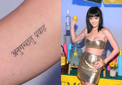 Katy Perry's Tattoos & Meanings  Steal Her Style