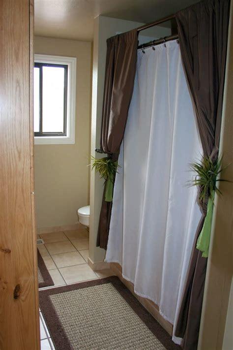 ideas  shower curtain rods  pinterest