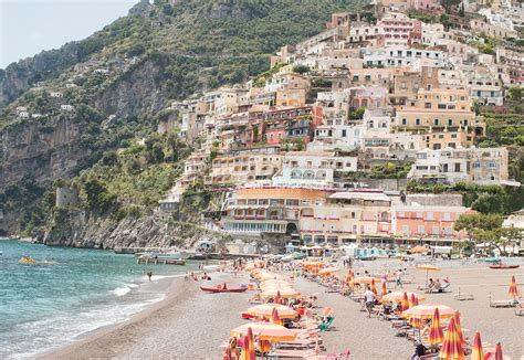 Italy Photography Summer In Positano Amalfi Coast Italy