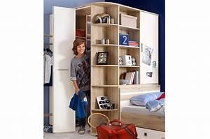 Meuble D Angle Chambre : armoire d 39 angle chambre enfant cbc meubles ~ Teatrodelosmanantiales.com Idées de Décoration