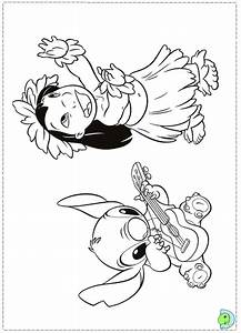 Free Coloring Pages Of Angel Lilo And Stitch