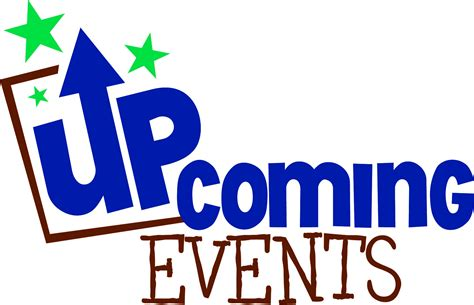 Pto Meeting, Upcoming Events, Clip Art