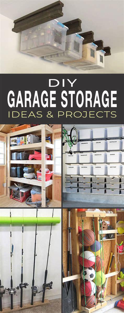 Storage Ideas by Diy Garage Storage Ideas Projects Ohmeohmy
