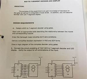 Solved  Please Solve The Following Using  Bcd Decoder Part