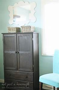 Armoire turned Computer Cabinet - Stacy Risenmay