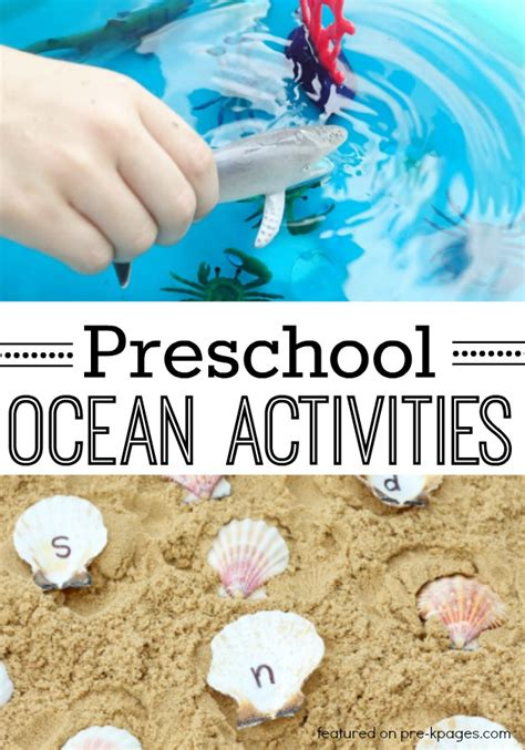 40 theme activities for preschool pre k pages 304 | Preschool Ocean Activities Tall