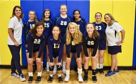 cary christian school womens junior varsity volleyball fall