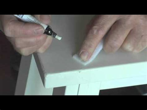 How To Repair Wood Furniture At Home By Pottery Barn Youtube