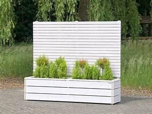 Balkon Blumenkasten Holz : sichtschutz mit blumenkasten pflanzkasten blumenkasten holz wei ge lt sichtschutz mit ~ Orissabook.com Haus und Dekorationen