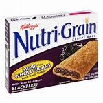 Grain Nutri Bars Cereal Kellogg Blackberry Ct