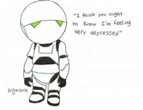 marvin the paranoid android top ten fictional misanthropes with in a book