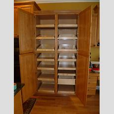 Pantry Cabinet Large Kitchen Pantry Storage Cabinet With