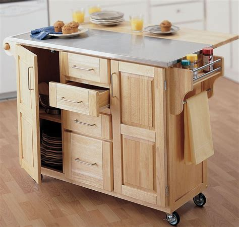 kitchen islands mobile small portable kitchen island ideas decor trends