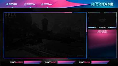Overlay Stream Overlays Twitch Screen Psd Streaming