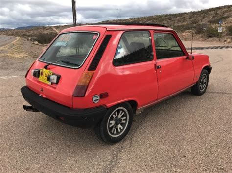 Renault Lecar For Sale by 1978 Renault 5 Lecar For Sale Renault 5 Lecar 1978