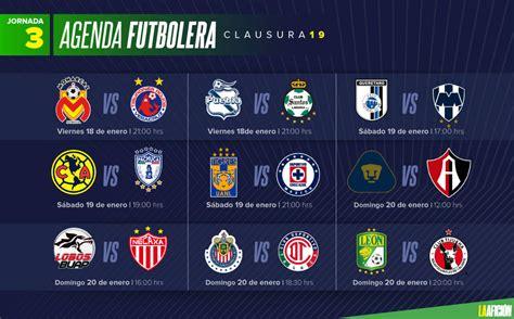 Quiniela La Afición de la Jornada 3 en la Liga MX