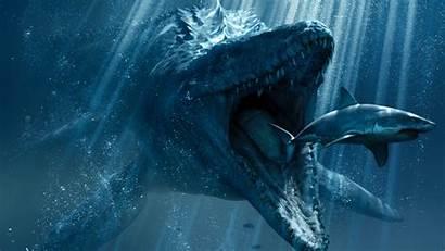 Dinosaur Predator Jurassic Underwater 1080p Screen Backgrounds