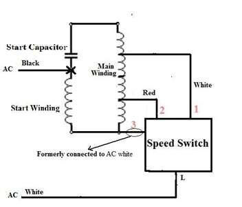 Harbor Breeze Ceiling Fan Capacitor Wiring Diagram by Solved I Need To Reverse Rotation On A Aloha Breeze Fan