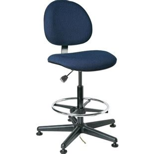bevco v830shc esd safe upholstered chair with floor
