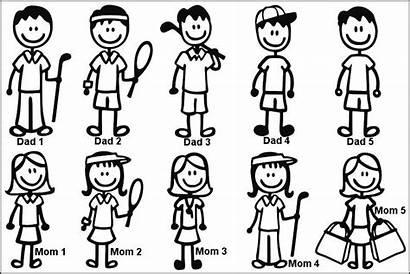 Stick Clip Figure Printable Clipart Person Figures