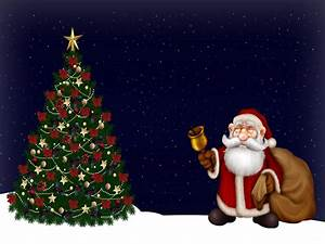Free Merry Christmas Santa Claus HD Wallpapers for iPad ...