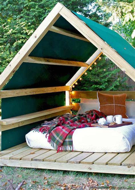 diy outdoor backyard resort cabanas cabana projects build decorating garden creative tips thegardenglove