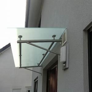 Vordach Glas Edelstahl : vordach aus glas mit rahmen aus edelstahl ~ Whattoseeinmadrid.com Haus und Dekorationen