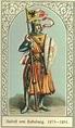 Rudolf I von Habsburg, Römisch-Deutscher König (1218 ...