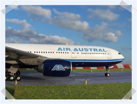 siege air austral boeing 777 200 air austral f orun minicraft 1 144