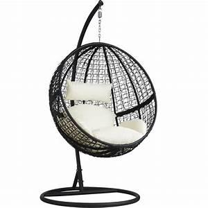 Fauteuil Suspendu Jardin : tectake balancelle de jardin sur pied hamac fauteuil ~ Dode.kayakingforconservation.com Idées de Décoration