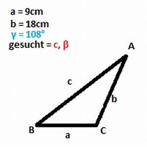 Seitenlänge Berechnen Dreieck : dreieck dreieck seitenl nge und winkel berechnen mathelounge ~ Themetempest.com Abrechnung