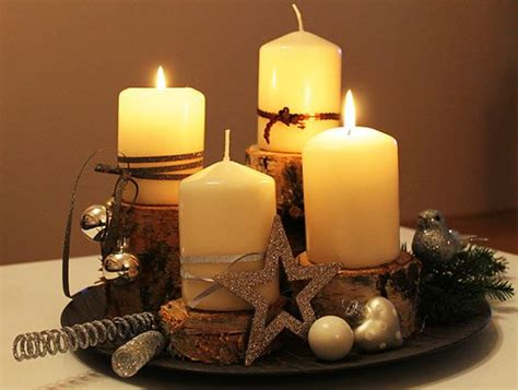 Adventskranz Selber Machen Modern by Bowl And Candles In The Country