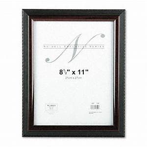 nu dell ez mount document frame plastic 8x10 black gold With acrylic document frame