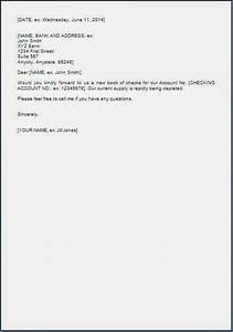 Sample Cheque Image Request Letter To Bank For New Cheque Book